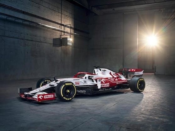 Kimi Räikkönen wird kommende Saison in diesen Boliden steigen.