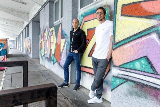 Die Storyclash-Gründer Philip Penner (34) und Andreas Gutzelnig (35)