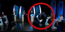 Teilnehmer rastet in Quiz-Show aus und demoliert Studio