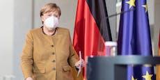 """Merkel warnt: """"Haben es mit dritter Welle zu tun"""""""