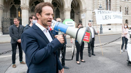 Wiens ÖVP-Klubchef Markus Wölbitsch ruft nach Aufklärung bezüglich der Wiener Sonderbeauftragten.