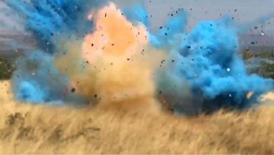 Archivbild Arizona, April 2017: Diese Explosion im Rahmen einer Gender Reveal Party löste einen verheerenden Waldbrand aus.