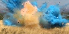 Gender Reveal Party – Explosion tötet werdenden Vater