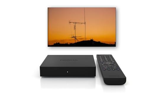 Nokia Terrestrial Receiver 6000 rüstet herkömmliche Fernseher auf den aktuellsten terrestrischen HDTV-Standard.