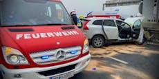 Ein Toter und eine Verletzte bei Unfall in Wr. Neudorf