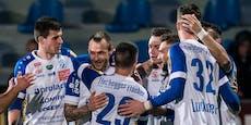 Hartberg gewinnt Nachtrag mit 1:0, lässt Austria jubeln