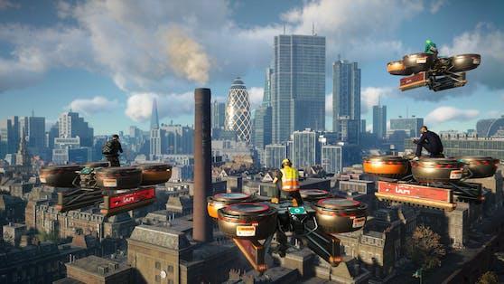"""Ubisoft kündigte heute das Releasedatum des Online-Modus von """"Watch Dogs: Legion"""" an."""