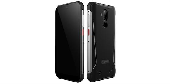 Gigaset präsentiert verbessertes ruggedized Smartphone GX290 plus.