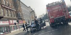 Auto ist nach Auffahrunfall von Unfallort verschwunden