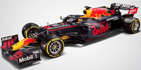 Mit diesem Boliden greift Red Bull in der neuen Saison an.