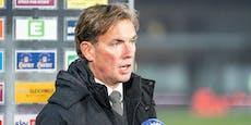 Bundesliga-Schlusslicht setzt Trainer vor die Türe