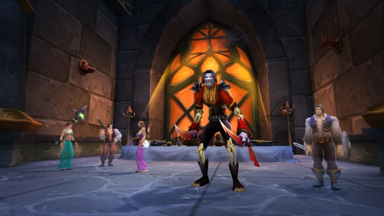 """World of Warcraft: Burning Crusade Classic"" ruft Spieler zurück durch das Dunkle Portal."