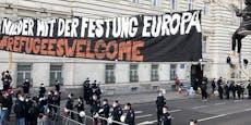 Flüchtlings-Aktivisten demonstrierten für Vergewaltiger