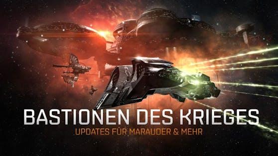 """""""EVE Online"""": """"Bastionen des Krieges""""-Update und """"Flottenformationen"""" bald verfügbar."""