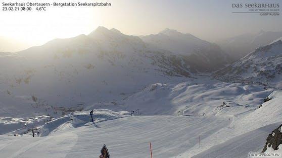 Webcam Seekarhaus / Obertauern heute in der Früh