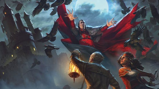 """Van Richten's Guide to Ravenloft"" erscheint am 18. Mai."
