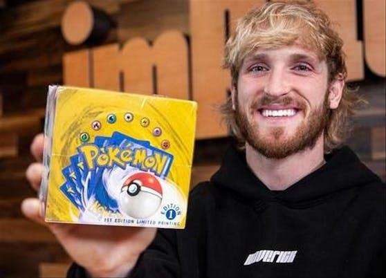 YouTuber Logan Paul hat sich mehrere solcher Packs im Wert von zwei Millionen Dollar gekauft.