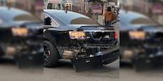 Audi will Bim den Vorrang nehmen, dann kracht es