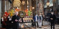 Lichtermeer wurde zu Terror-Denkmal im Stephansdom