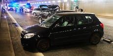 Schwangere (34) bei Kollision in Tunnel verletzt