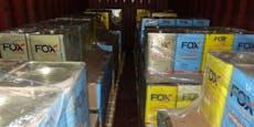 Größter Drogenfund Europas: 16 Tonnen Kokainentdeckt