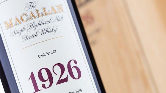 """""""The Macallan 1926 Fine and Rare"""" wechselte für umgerechnet rund1,16 Millionen Euro den Besitzer."""