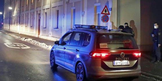 Polizeieinsatz in Klagenfurt. Symbolbild