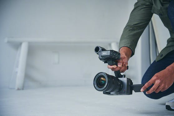 Die neue Vollformatkamera FX3 von Sony: Film-Look und hervorragende Bedienbarkeit.