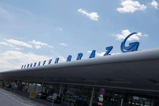Nach einem Manöver am Flughafen Graz musste die Wienerin notlanden.