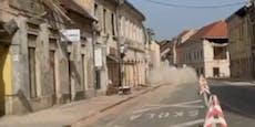Erneut starkes Erdbeben auf dem Balkan