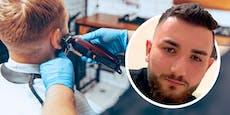 Polizei straft Mann, der beim Friseur FFP2-Maske abnahm