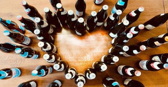 Mit Herz gegen Verschwendung: Melker Betriebe spenden ihre bald abgelaufenen Getränke.