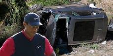 Polizei schweigt zu Ursache des schweren Woods-Unfalls