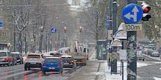 Wettersturz in Österreich bringt noch einmal Neuschnee