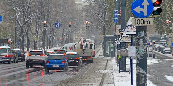 Der Schnee kommt nach Österreich zurück.