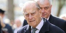 Palast verrät, warum Prinz Philip ins Spital kam