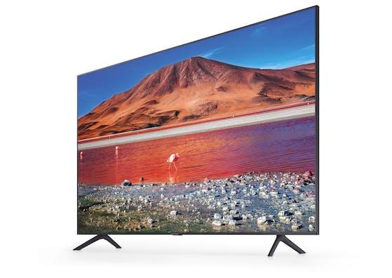 Der 43 Zoll große Ultra HD Smart TV 43TU7170 von Samsung.