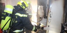 Wohnhausbrand forderte zwei Verletzte