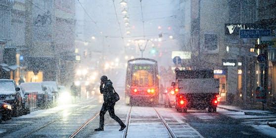 Darf sich auch Wien wieder bald über Schnee freuen?