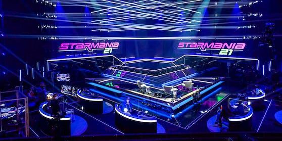 """Die Studiofläche von """"Starmania 21"""" (inklusive Laufstege) beträgt 250 Quadratmeter."""
