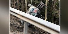 25-Jähriger crasht mit Audi und ist auf der Stelle tot