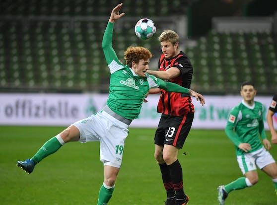 Martin Hinteregger gegen Werder Bremen.