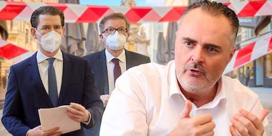 """Bisherige Corona-Politik gescheitert"": Hans Peter Doskozil rechnet mit Sebastian Kurz und Rudi Anschober ab."