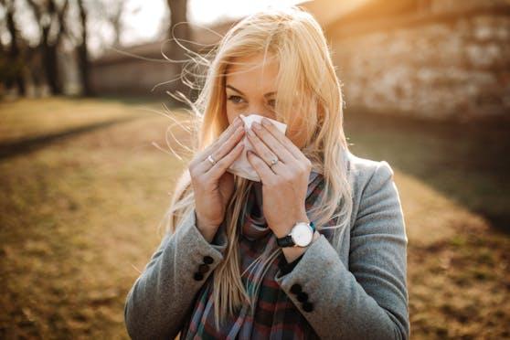 Pollenallergiker haben derzeit kein leichtes Leben.