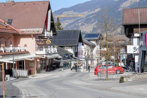 Situation in der Tiroler Gemeinde Mayrhofen am Mittwoch, 24. Februar 2021.