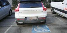 Auto trotz Ausweis von Behindertenparkplatz entfernt