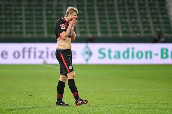 Martin Hinteregger krachte nach dem Spiel mit Niklas Füllkrug zusammen.