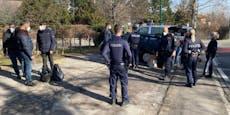 Nach Crash geflohener Schlepper in Wien festgenommen