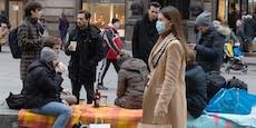 So viele Bürger sind für die Maskenpflicht im Freien