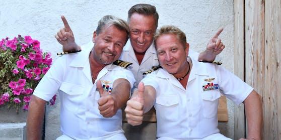 """Bei ihnen läuft es top: Stefan Peters, Frank Cordes und Kevin Marx sind die """"Schlagerpiloten"""""""